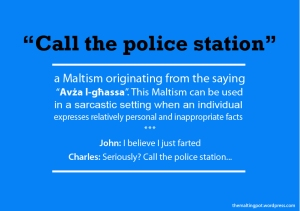 Call the police station