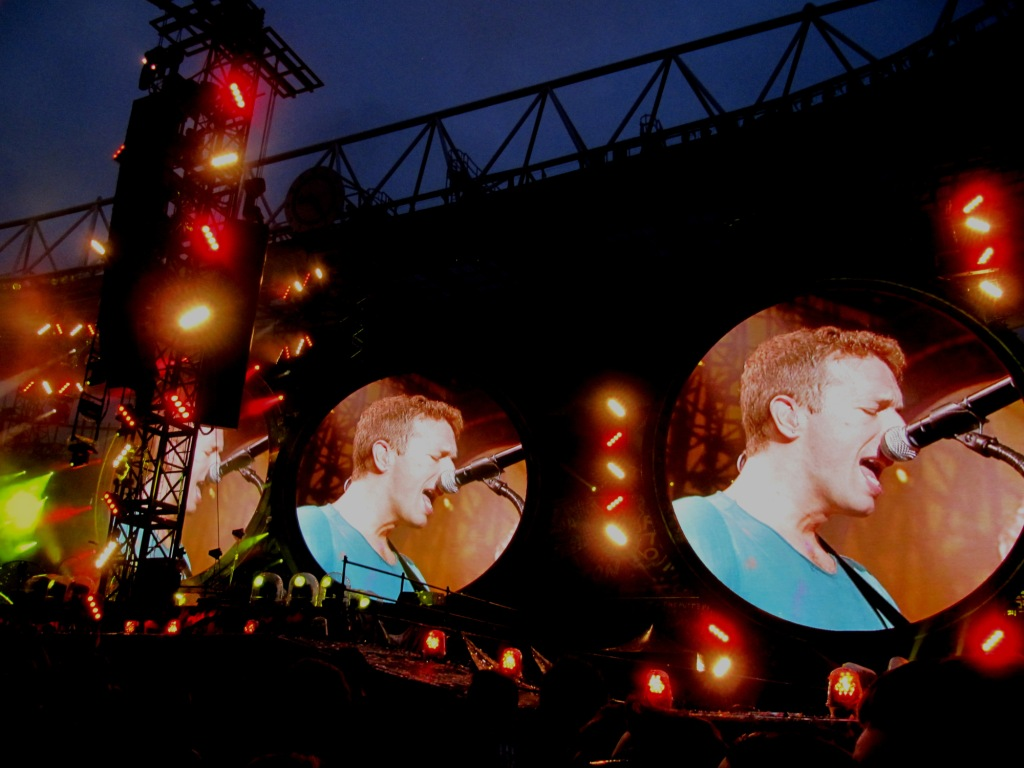 Coldplay in June 2012