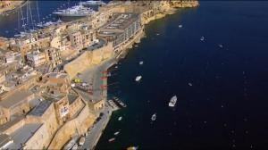 Stunning view of Birgu, showing the Gostra challenge