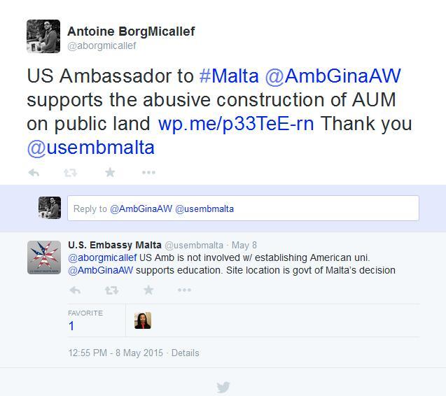 us embassy tweet