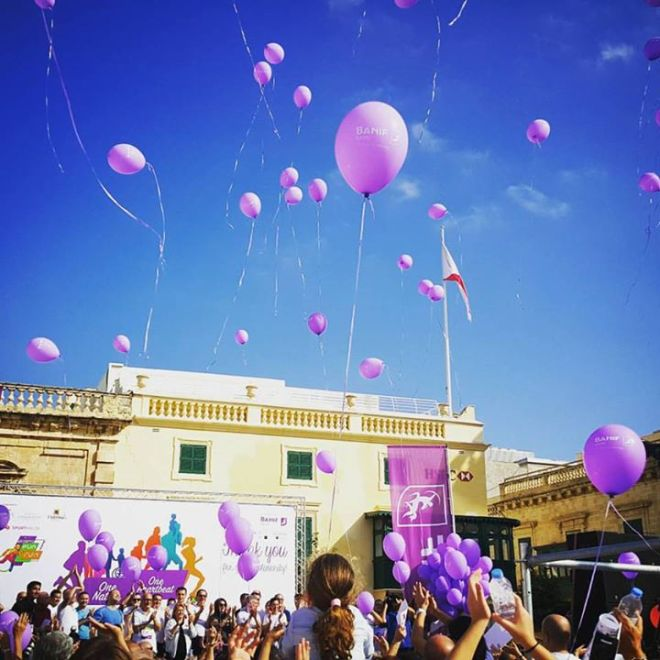 I wonder how many of these balloons have made their way to the Grand Harbour and Marsamxett Harbour around Valletta?